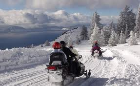 Snowmobiling map